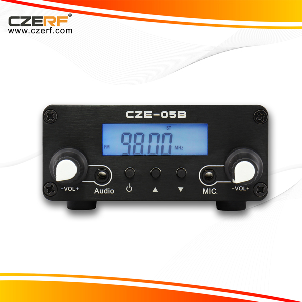 Free Shipping CZE-05B 0.5W Small Audio Amplifier FM Transmitter 76~108MHz Adjustable(China (Mainland))