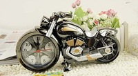 Originality alarm clock free shipping Cool motorcycle model clock
