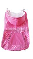 Wholesale  Reversible Two sides dog raincoat dog clothes 12 pcs 3 size mixed Free Shipping