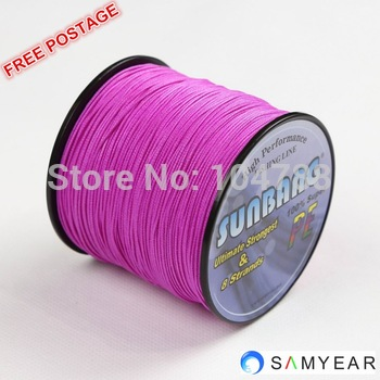 Free shipping 8 Strands 20LB 100M Long Line Fishing Multifilament Briade Fishing Line --SUNBANG