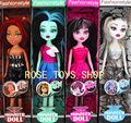 Best sale! Monster High dolls4pcs/lot,4style!!! 28cm highly2013new styles, hot seller,girls plastic toys with box  Free shipping