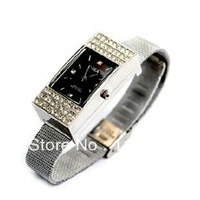 Crystal watch  8GU disk upscale personalized gifts, free shipping creative girls u disk gifts best guarantee of quality
