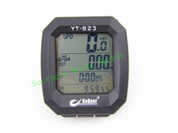 LCD Backlight Waterproof 4line digital screen cycling speedometer stopwatch mountain bicycle timers bicycle computer