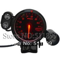80mm Car Gauge Defi Meter Tachometer Car Gauge With Red Light