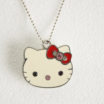 TRUE100% Flash Memory Best Selling Jewelry usb flash drive HOT Usb 2.0 2gb 4gb 8gb 16gb Usb Pendrive hello kittyF-H079
