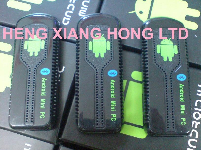 Mini PC Android 4.2 RK3188 Quad Core Cortex A9 2GB RAM + 8GB ROM + Mobile phone DLNA+1080P XBMC stick TV dongle UG007 IIB(Hong Kong)