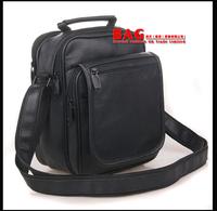 men messenger bags men Cross Body Black Cow genuine leather men bag mochila Square Zippers Casual  leather bags 23*19*9cm