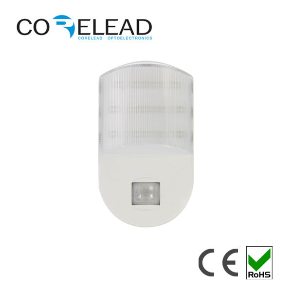 Modern designed led night light with PIR AC220V with 9 pcs led Night Sensor LAMP(China (Mainland))