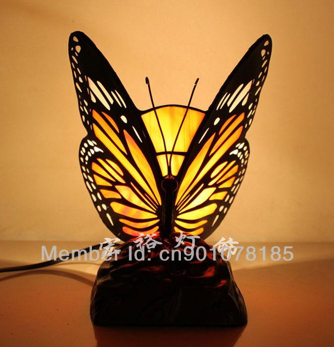 lighting gift animal lamp novelty handmadectaft stained glass. Black Bedroom Furniture Sets. Home Design Ideas