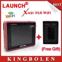 2015 New Arrival Original Launch Universal Diagnostic Scanner Launch X431 PAD 3G WiFi Update By Offical Website DHL Free