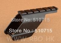 2014 Limited Top Fasion Tactical Hunting Shooting Remington 870 Shotgun Saddle Mount Rail Base Aluminum Cnc Free Shipping M6772