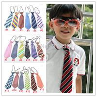 Variety of design children ties necktie choker cravat boys girls ties baby scarf neckwear 120color for choose 10pcs/lot LD001