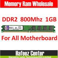 Support All motherboard Brand New DIMM Memory Ram DDR2 1G 800Mhz PC2-6400 memoria ram For desktop computer,