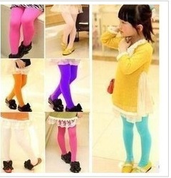 11 colors children's pantyhose girls leggings tights socks kids legging girl tights for girl children socks velvet leggings(China (Mainland))