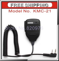 100% Brand New Black Speaker Microphone  Mic Microphone Speaker KMC-21 for Kenwood Radio 11mm+Free Shipping