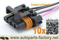 """longyue 10pcs D580 LS1 LS6 Ignition Coil Pigtail female connector flat 12"""""""