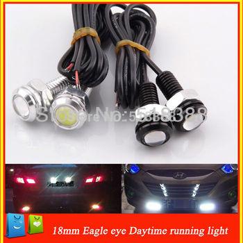 10pcs/lot Hight power 3W car bulbs eagle Eye led Daytime Running Light Tail lamp for car Brake lights /parking light