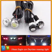 HOT-3W LED White Eagle Eye Car Rear Light  High Power  Car Daytime Running Light  LED Light