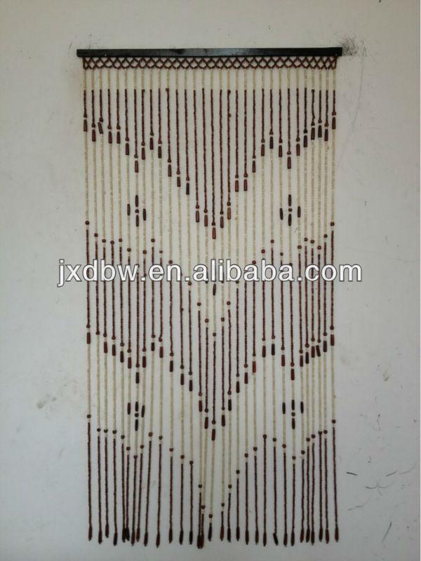 Alfa img - Showing > Wooden Bead Curtain Valance