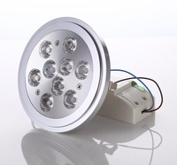 Free shipping,1Pcs /lot,Dimmable 110V 12W ar111,30deg.Replace 75W halogen 45deg