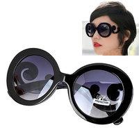 2014  New Fashion Korean Sweet Lovley Fashion glasses Heart Frame Charm Design Sunglasses For Women And Men