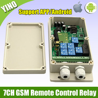 1 pcs 7CH Real-Time GSM Remote Control Relay Output Contacts Switch Box 850/900/1800/1900Mhz