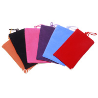 "3 ""Cotton Case Bag For  iPhone4 4S 3GS iphone 5 / MP3/MP4 Ebook free shipping"