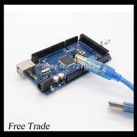 Freeshipping Mega 2560 R3 Mega2560 REV3 ATmega2560-16AU Board + USB Cable compatible for arduino