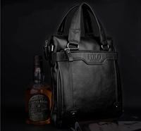 Free Shipping Fashion Designer Genuine Leather/PU Hot men's handbag business casual shoulder Bag Messenger Bag Briefcase
