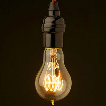 modern creative line hanging line vintage cord pendant lamp within E27 edison bulb A19  for restaurant club bars 5pc/lot