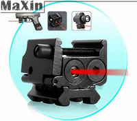 Mini Adjustable Compact Red Dot Laser Sight Fit For Pistol/gun with Rail Mount 20mm free shipping