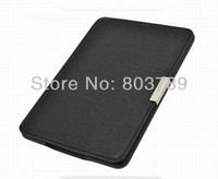 Hot  selling 1:1 design magnets clasp PU Leather Book Case Cover For Amazon Kindle Paperwhite Case, retail and wholesale,1pc/lot