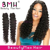 Best Virgin brazilian hair deep wave 3pcs/lot 5A grade rosa hair extension wholesale price free shipping