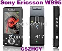 Sony Ericsson W995 Original W995i Unlocked 8MP GPS Bluetooth Cellphone 3G WIFI keyboard refurbished phone