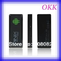 2pcs/lot MiniX Mini X NEO G4 Android Mini PC TV BOX HDMI Dongle TV Stick RK3066 dual core Cortex A9 1GB RAM 8GB ROM