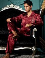 Men's cotton pajamas suit  comfortable  men  Silk pajamas    Men