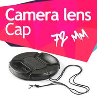 72mm Lens Snap-on Center Pinch Cap for Canon Nikon 18-200mm lens