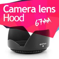 New 67mm Flower/Petal Lens Hood For Nikon D90 D7000 18-105mm lens Free Shipping