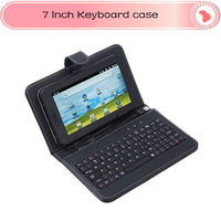 Cheap 7 inch USB 2.0 or MINI/Micro USB keyboard case with RUSSIAN Russia letters for tablet pc MID