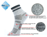 2014 new Unisex THERMAL HIKing WINTER WARM THICK COTTON SPORT SOCKS Mens & Womens outdoor