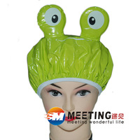 Wholesale Hair Shower hat cartoon Bathing Caps waterproof bathing caps lace Eco shower cap