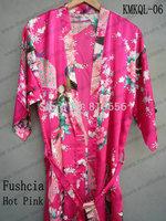 Free shiping 2013 new arrived japanese style woman silk evening kimono dress satin gown Yukata oversized S M L XL XXL XXXL