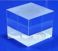 10pcs Educational Prisms Defective Cross Dichroic X-Cube Prism RGB Combiner or Splitter Laser Modules Decoration Glass