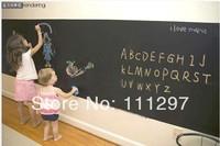 Free shipping 45CM*200CM Blackboard Home Sticker, Removable Wall Decal, Chalkboard Stickers