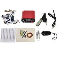 New Complete set Tattoo machine tatoo kit tattoo equipment set
