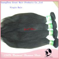Great hair brazilian straight hair Virgin hair Free Shipping supple  Human Hair  100%Hair Weave 14-30inch 100g/pc Natural Color