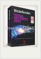 BIS BitDefender Internet Security 2015 2014 1 Year/3PC newest edition sales promotion