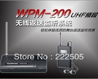 NEW Takstar WPM-200 UHF Wireless Monitor System Stereo In-Ear Wireless Headphones & Headset Transmitter&Receiver Set