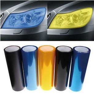Free Shipping 13 All Colors 30cm x100cm Auto Car Light Headlight Taillight Tint Vinyl Film Sticker 2013 New Hot(China (Mainland))