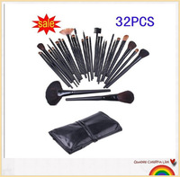 Stock Clearance !!! brazil brazilian 32 pcs makeup brushes /makeup brush set kit Free Shipping